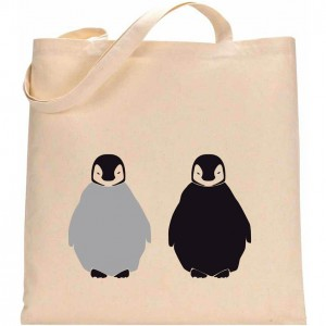 Tote Bag 1 BABY PINGOUINS LOW
