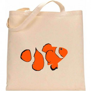 Tote Bag 1 POISSON CLOWN 1 LOW