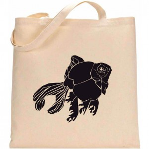 Tote Bag 1 POISSON JAPONAIS 1 LOW